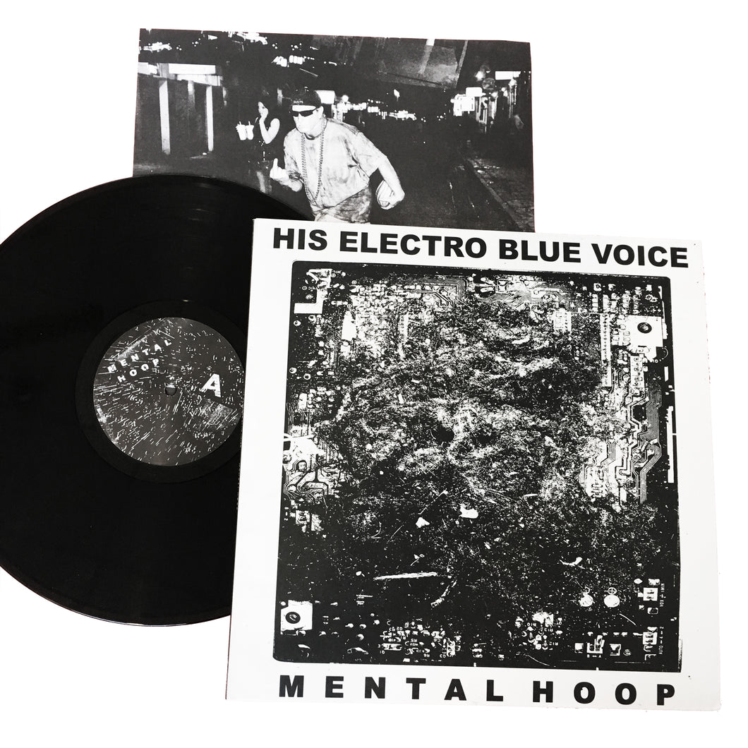 His Electro Blue Voice: Mental Hoop 12