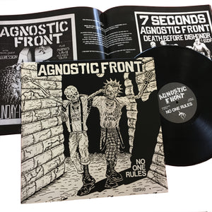Agnostic Front: No One Rules 12""