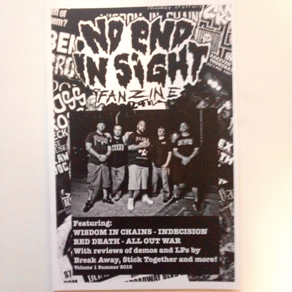 No End in Sight Volume 1 zine