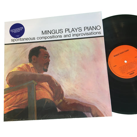 "Charles Mingus: Mingus Plays Piano 12"" (new)"