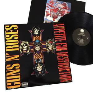 Guns N Roses: Appetite for Destruction 12""