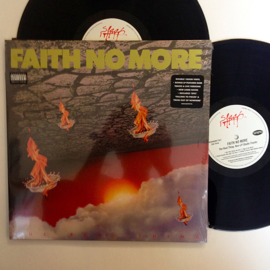 "Faith No More: The Real Thing 12"" (new)"