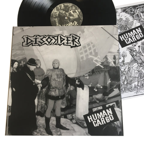 "Disorder: Human Cargo 12"" (new)"