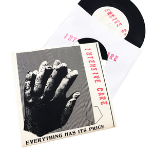 "Intensive Care: Everything Has Its Price 7"" (new)"
