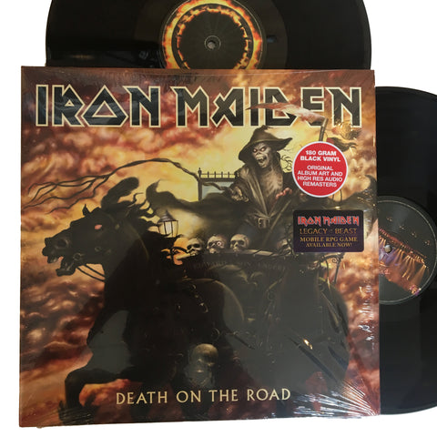 "Iron Maiden: Death on the Road 12"" (new)"
