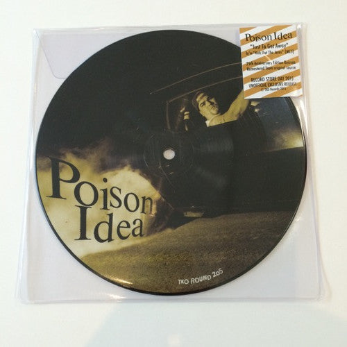 "Poison Idea: Just to Get Away 7"" (new; Record Store Day 2015)"