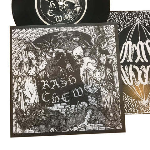 "C.H.E.W. / Rash: Split 7"" (new)"