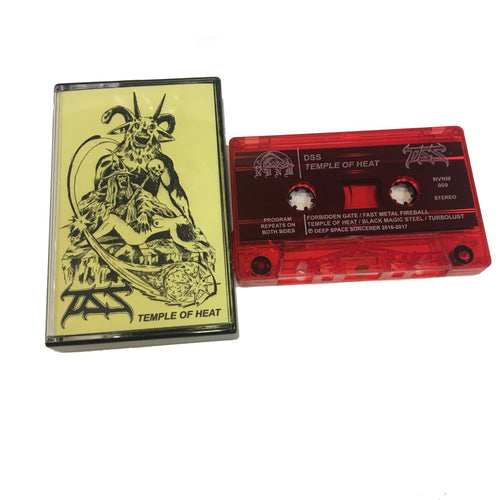 The DSS: Temple of Heat cassette