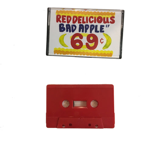 Red Delicious: Bad Apple cassette