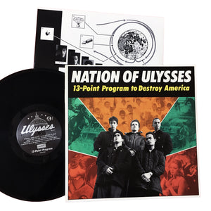 Nation of Ulysses: 13 Point Program 12""