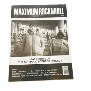 Maximum Rock N Roll: Issue No. 415 December 2017