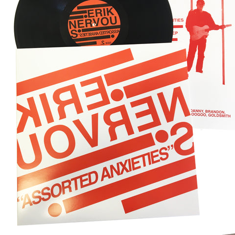 "Erik Nervous: Assorted Anxieties 12"" (new)"