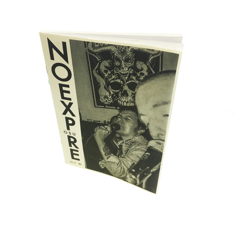 No Exposure #4 zine