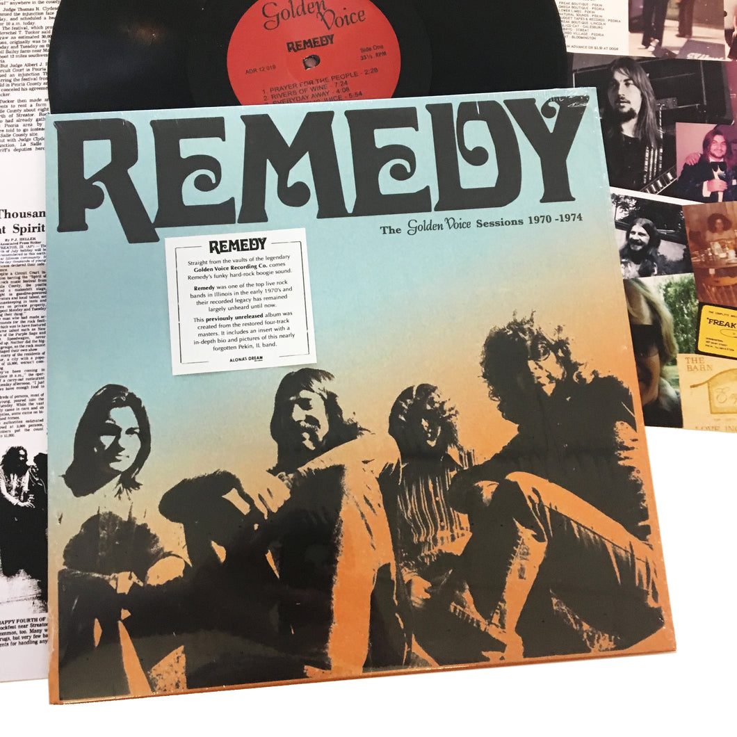Remedy: Golden Voice Sessions 1970-1974 12