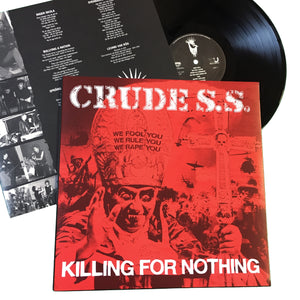 Crude SS: Killing For Nothing 12""