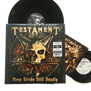 "Testament: First Strike Still Deadly 12"" (new)"