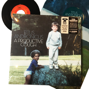 "Titus Andronicus: A Productive Cough 12"" (colored vinyl)"