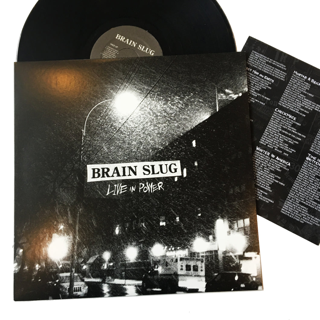 Brain Slug: Live in Power 12