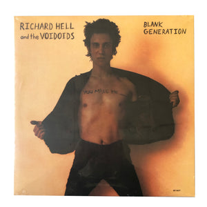 "Richard Hell and the Voidoids: Blank Generation 12"" (new)"
