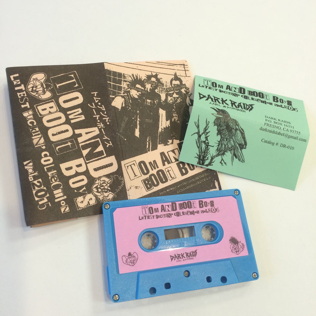 Tom and Boot Boys: Latest Fuckin' Collection 2015 cassette
