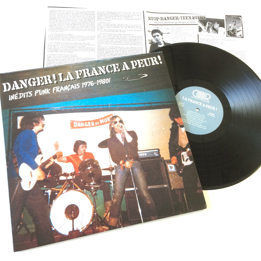 Various: Danger! La France a Peur! 12""