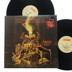 "Sepultura: Arise (Expanded Edition) 12"" (new)"