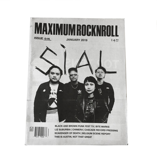 Maximum Rocknroll #428 (January 2019)