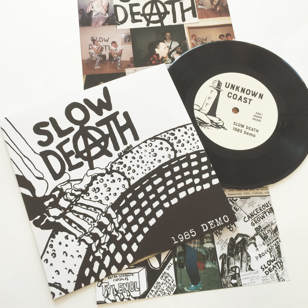 Slow Death: 1985 demo 7""