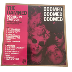 "The Damned: Doomed In Croydon 12"" (new)"