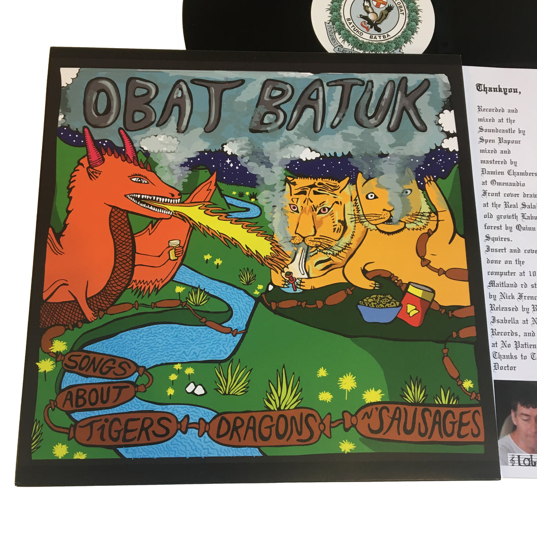 Obat Batuk: Songs About Tigers, Dragons, n' Sausages 12