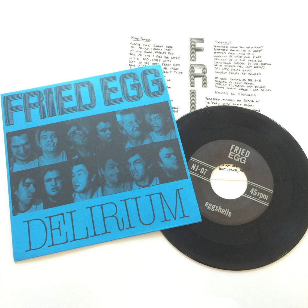 Fried Egg: Delirium 7""