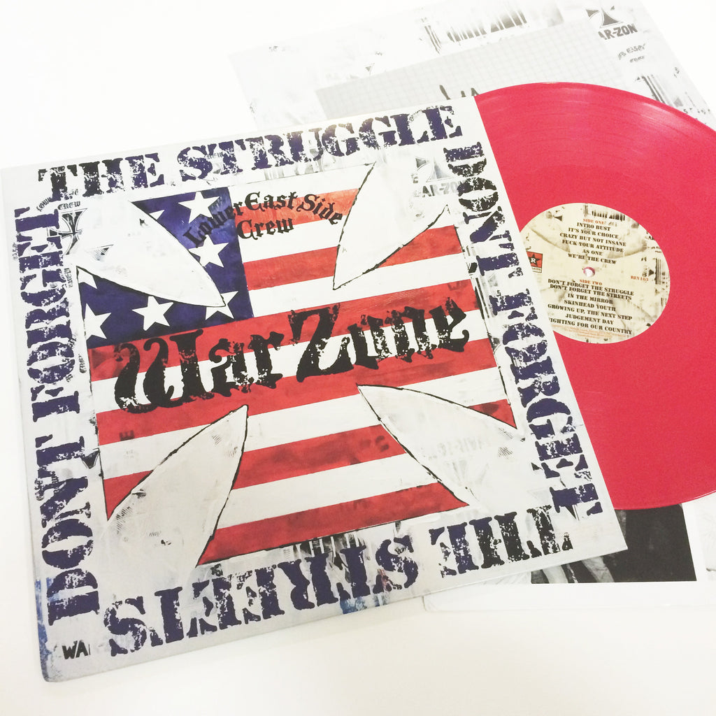 Warzone: Don't Forget the Struggle, Don't Forget the Streets 12""