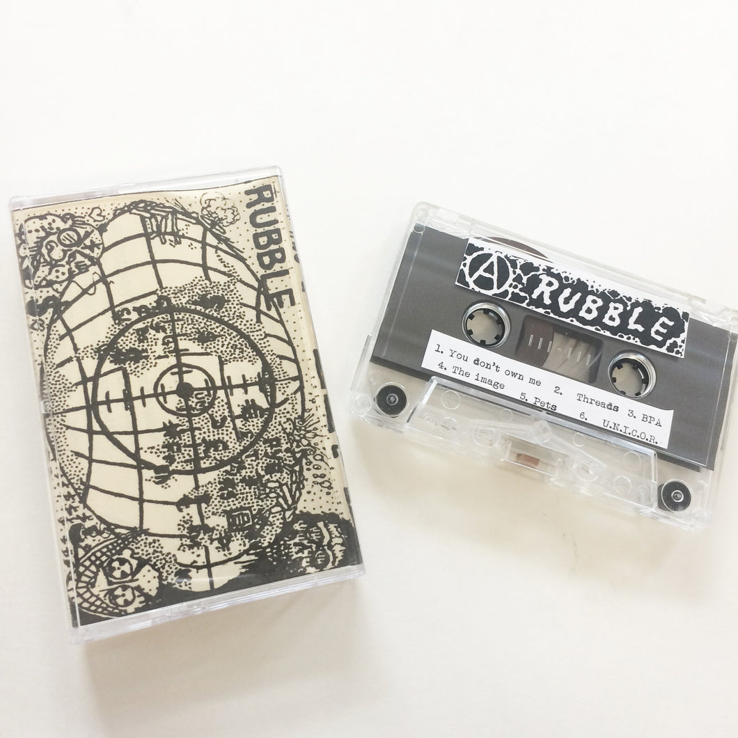 Rubble (PDX): demo cassette