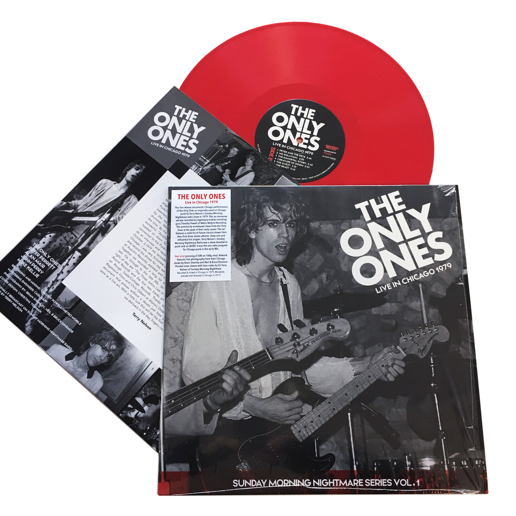 The Only Ones: Live In Chicago 1979 12