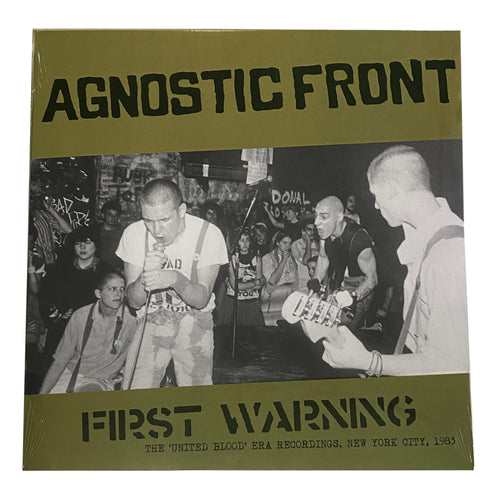 Agnostic Front: First Warning: The United Blood Era Recordings 12