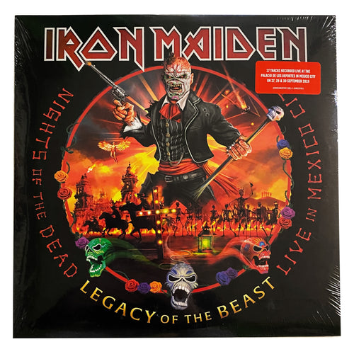 Iron Maiden: Nights of the Dead, Legacy of the Beast: Live in Mexico City 12