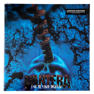 "Pantera: Far Beyond Driven 12"" (White/Stronger Than Blue vinyl)"