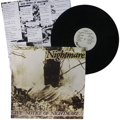 Nightmare: Give Notice of Nightmare 12