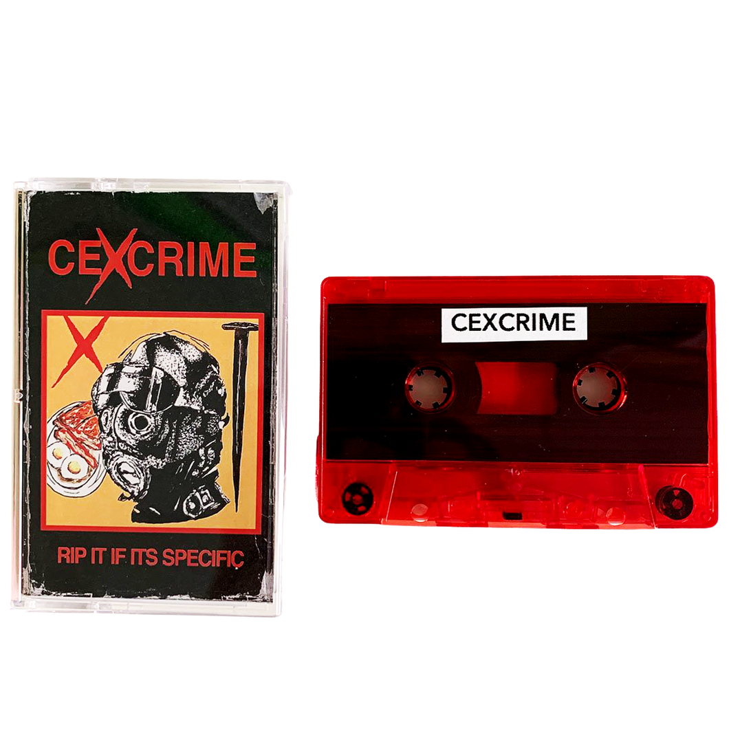 Cexcrime: Rip It If Its Specific cassette