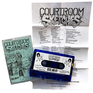 Courtroom Sketches: Demo cassette