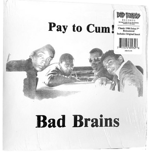 Bad Brains: Pay to Cum 7""