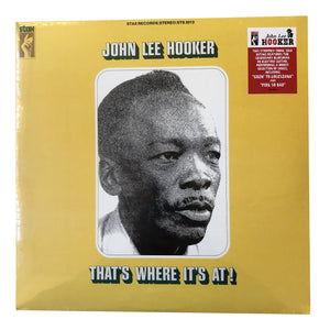 "John Lee Hooker: That's Where It's At 12"" (new)"