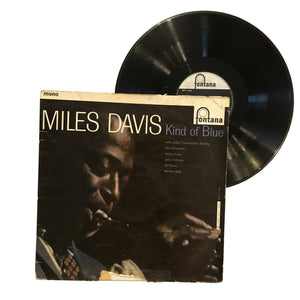 "Miles Davis: Kind Of Blue 12"" (used)"