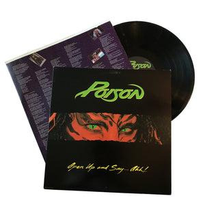"Poison: Open Up And Say… Ahh! 12"" (used)"