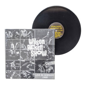 "Wilson Pickett: Live In Germany 1968 12"" (used)"