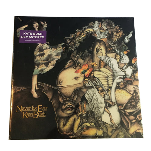 Kate Bush: Never for Ever 12