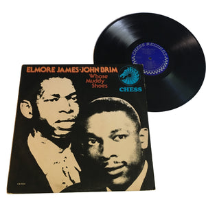 "Elmore James, John Brim: Whose Muddy Shoes 12"" (used)"