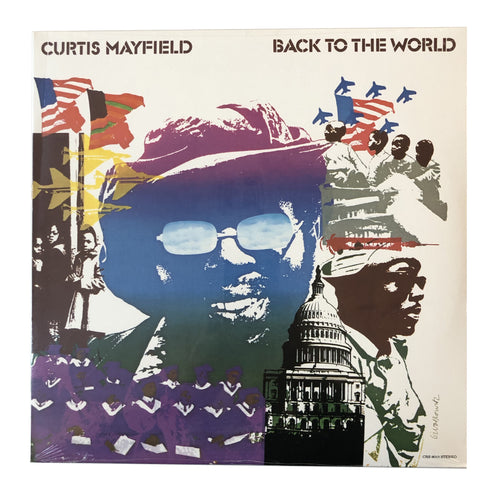 Curtis Mayfield: Back to the World 12