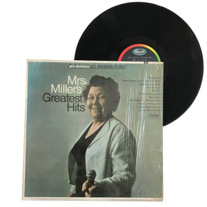 "Mrs. Miller: Greatest Hits 12"" (used)"