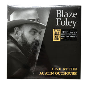 Blaze Foley: Live at the Austin Outhouse 12""